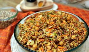 Salade de quinoa au curry