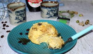Bowl cake citronné aux raisins secs