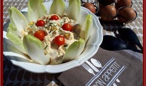 Salade d'oeufs sans mayonnaise