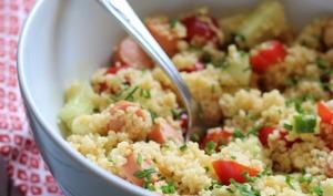 Salade de semoule aux knacki