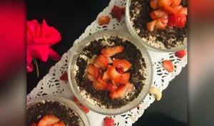 Tiramisu à la fraise façon CookieOréo