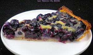 La tarte aux myrtilles facile et délicieusement bonne