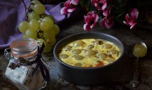 Gratins d'automne au raisin et sucre à la lavande