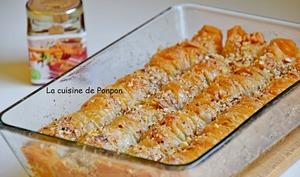 Baklava rolls aux amandes et miel du Maroc