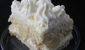 Gâteau façon poirier