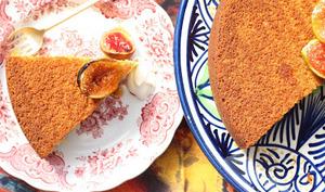 Gâteau à l'huile d'olive, au citron et au poivre blanc