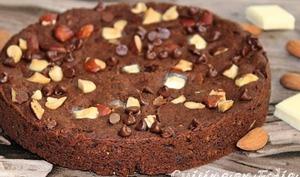 Brownie au chocolat hyper protéiné