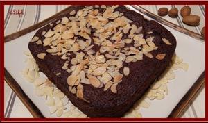 Gâteau au Chocolat noir et Amande