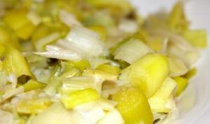 Fondue de poireaux au Cookeo