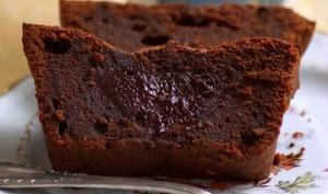 Cake fondant au chocolat de Philippe Conticini