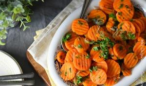 Carottes Vichy, cuisine française