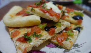 FOUGASSE PLUTÔT QUE PIZZA A L'ANCIENNE