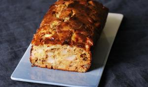 Cake poire roquefort miel