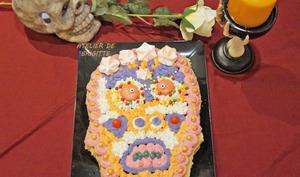 Dead Skull Cake Framboises et Vanille