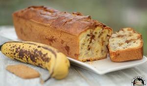 Cake bananes crème de spéculoos