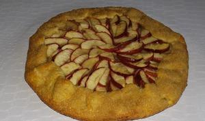 Tarte rustique pommes et cannelle