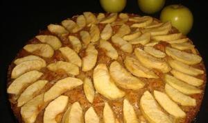 Gâteau normand aux pommes et à la gelée de pomme