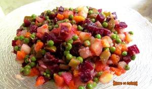 Salade russe Vinegret