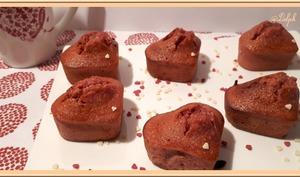 Bouchées à la purée de fruits rouges et blancs d'oeufs