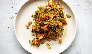 Salade de carottes & noix de coco