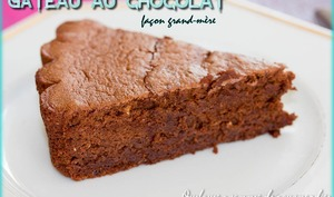 Gâteau au chocolat façon grand-mère