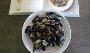 """Moules de """"Cornouailles"""" à la crème de Jamie Oliver"""