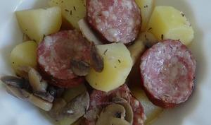 Pommes de terre et saucisse de Morteau