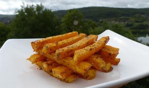 Frites de courge butternut au parmesan  - Philandcocuisine