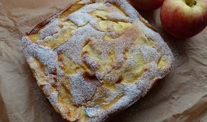Gâteau flan aux pommes - Philandcocuisine
