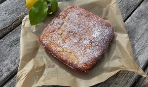Gâteau fondant au citron - Philandcocuisine