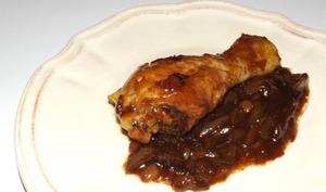 Pilons de poulet aux oignons et à la sauce Teriyaki