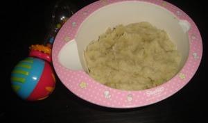 Purée de pommes de terre et de patate douce dès 6 mois