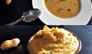 Soupe  de butternut au beurre de cacahuètes