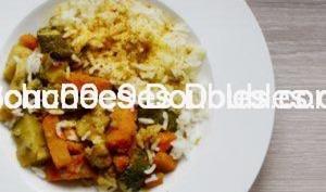 Légumes épicés et riz basmati