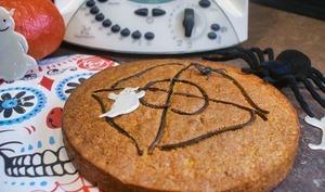 Gâteau à la citrouille et réglisse au thermomix