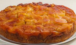 Gâteau du matin aux pommes façon tatin