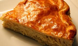 Tourte à la choucroute aux lardons et fromage