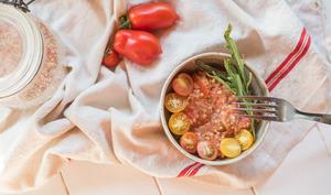 Porridge salé tomate - sarrasin