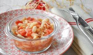 Mijoté haricots blancs, tomate et fenouil