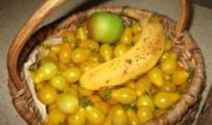 Confiture de Tomates Cerise Jaunes
