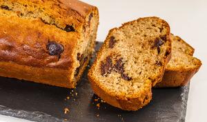 Gâteau du matin à la confiture de prunes et au chocolat