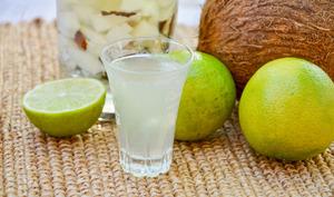 Rhum arrangé coco citron vert
