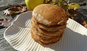 Pancakes rapides à la pomme râpée