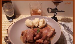 Porc à la bière au cookéo