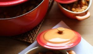 Mijoté de haricots blancs et saucisse de Morteau