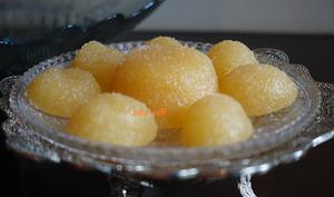Pâte de fruits à l'orange traditionnelle