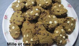 Cookies au potimarron et pépites de chocolat