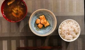 Tofu croustillant et caramélisé