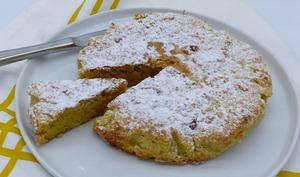 Tarta de Santiago: moelleux aux amandes