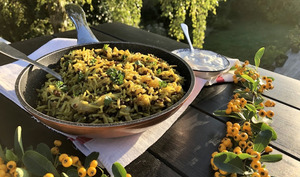 Poêlée de riz et lentilles aux épices façon mjadra